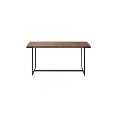 HOMEDAY ダイニングテーブル WNT(ウォールナット) DT-18-W150