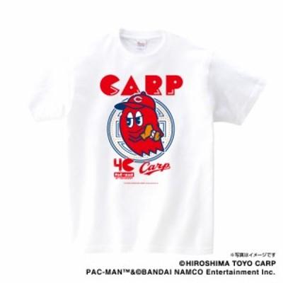 カープ×パックマンコラボ Tシャツ(ブリンキー)