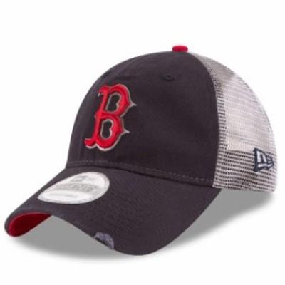 New Era ニュー エラ スポーツ用品  New Era Boston Red Sox Navy Team Rustic 9TWENTY Adjustable Hat