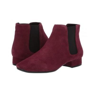 Aerosoles エアロソールズ レディース 女性用 シューズ 靴 ブーツ チェルシーブーツ アンクル Skyway - Wine Suede