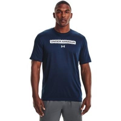 【セール】 アンダーアーマー メンズスポーツウェア 半袖機能Tシャツ UA TRAINING VENT GRPHIC 1 SS 1365216 408 メンズ 408