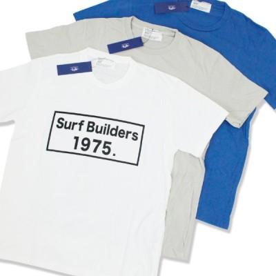 Tシャツ メンズ 半袖 ブランド おしゃれ  1975 TOKYO 1975 SurfBuilders Tee 3カラー レディース セール