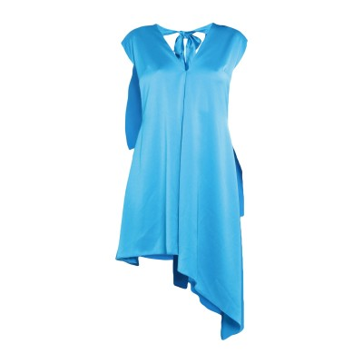 エムエスジーエム MSGM 7分丈ワンピース・ドレス ターコイズブルー 42 ポリエステル 100% 7分丈ワンピース・ドレス