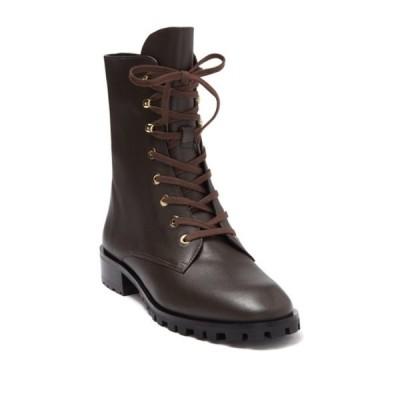 スチュアート ワイツマン レディース ブーツ&レインブーツ シューズ Norrie Lace-Up Boot WALNUT