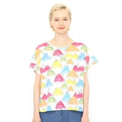 tシャツ Tシャツ マルチパターンTシャツ(ホームオブイエティ)(ホワイト)