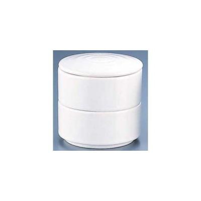 エムズジャパン 丸型 二段重 白 Y-022 RMJ5401