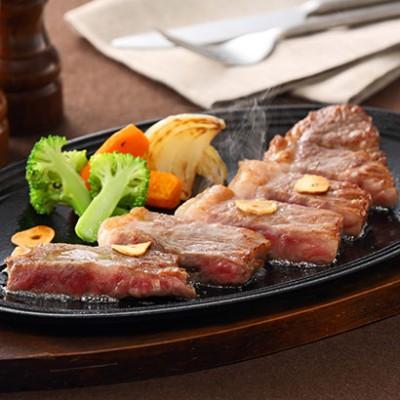 [鹿児島]薩州牛ロースステーキ がっつり食べたいステーキ