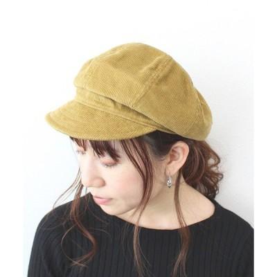 帽子 キャスケット ★コーデュロイキャスケット
