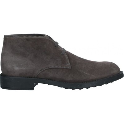トッズ TOD'S メンズ ブーツ シューズ・靴 boots Steel grey