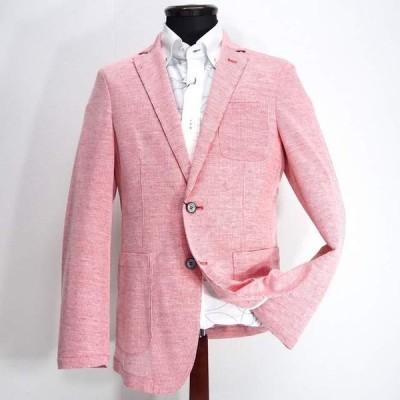 barassi MILANO バラシ カジュアルジャケット ストレッチ 2つボタン 麻(リネン) M/L/LL メンズ ファッション 服 カジュアル