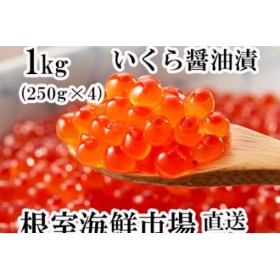 いくら醤油漬(鮭卵)250g×3P(計750g) B-11012