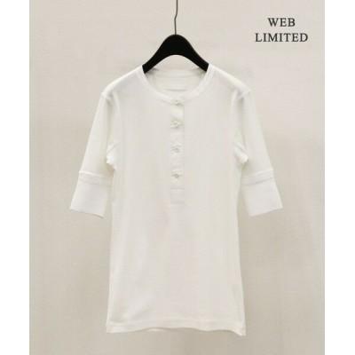 ICB/アイシービー 【仙波レナさんコラボ】 CottonFries カットソー アイボリー系 XS