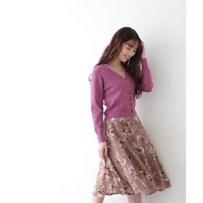 スカート ◇ローズブーケオパールスカート