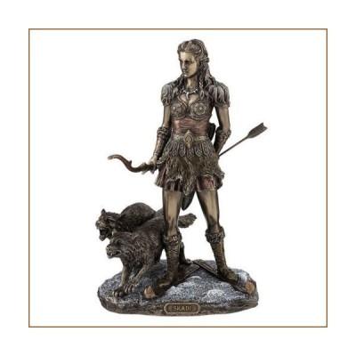"10.75"" Skadi Norse Goddess Home Decor Figure Statue Sculpture Figurine【並行輸入品】"