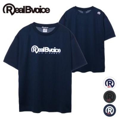 リアルビーボイス RealBvoice BASIC LOGO R34 DRY T-SHIRT BIG SIZE