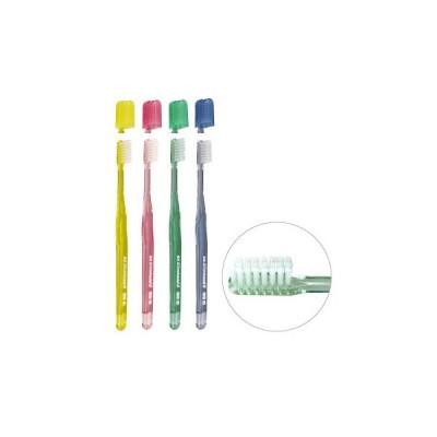 歯ブラシ ライオン DENT.EX Slimhead II 33(コンパクトヘッド) ふつう 4色アソート 4本入(メール便6点まで)