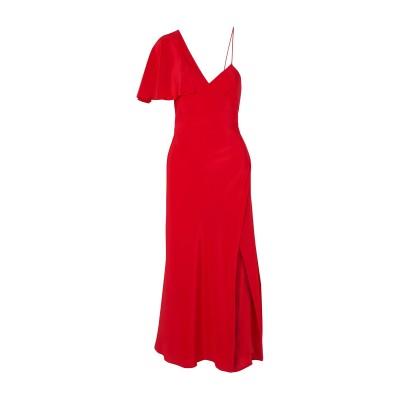 MICHELLE MASON 7分丈ワンピース・ドレス レッド 10 シルク 100% 7分丈ワンピース・ドレス