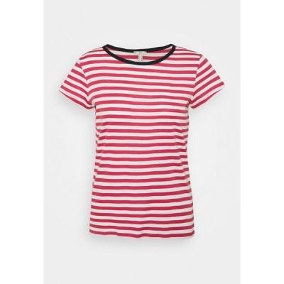 イー ディ シー バイ エスプリ Tシャツ レディース トップス CAP SLEEVE - Print T-shirt - blush