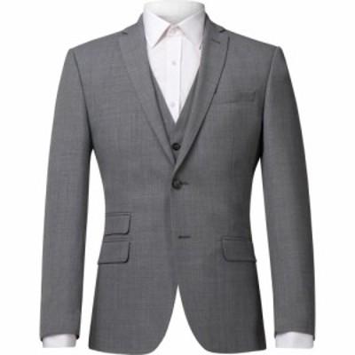 レーシング グリーン Racing Green メンズ スーツ・ジャケット アウター Panama Tailored Jacket Grey