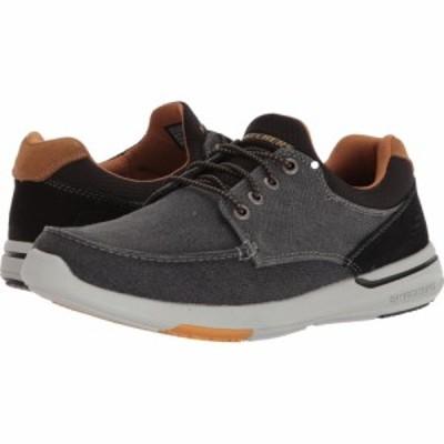 スケッチャーズ SKECHERS メンズ デッキシューズ シューズ・靴 Relaxed Fit: Elent - Mosen Black