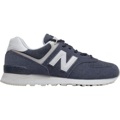 ニューバランス New Balance メンズ スニーカー シューズ・靴 574 Shoes Navy Blue