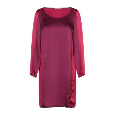 MIKI THUMB ミニワンピース&ドレス ガーネット S シルク 100% ミニワンピース&ドレス