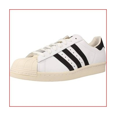 adidas Originals Men's Superstar 80s Trainers in White【並行輸入品】