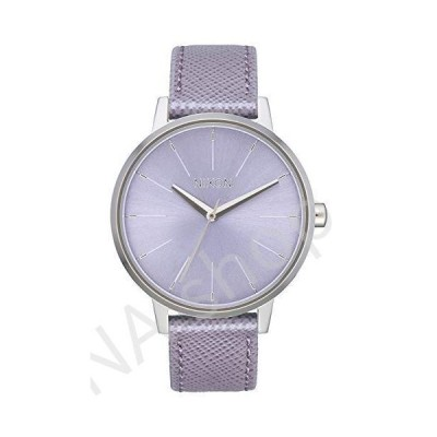 NIXON Kensington Leather A108 - Lavender - 50m Water Resistant Women's Analog Classic Watch (37mm Watch Face, 16mm Leather Band)(並行輸