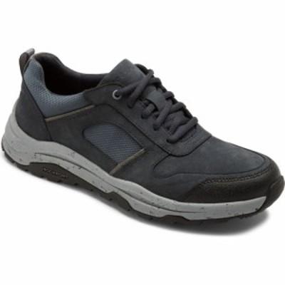 ロックポート ROCKPORT メンズ スニーカー シューズ・靴 XCS Pathway Waterproof Sneaker Navy Nubuck