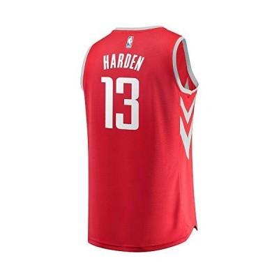 Fanatics レプリカジャージ NBA ジェームズ・ハーデン ヒューストン・ロケッツ #13 (US Small, レッド)