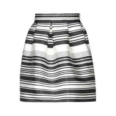 リュー ジョー LIU •JO ひざ丈スカート ブラック 42 ポリエステル 91% / ナイロン 9% ひざ丈スカート