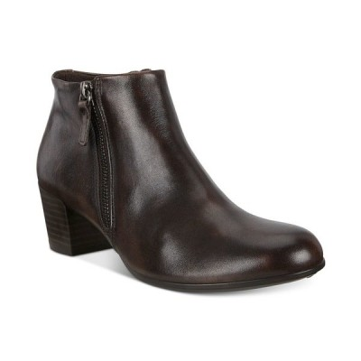 エコー ブーツ&レインブーツ シューズ レディース Women's Shape 35 Zip Boots Cocoa Brown