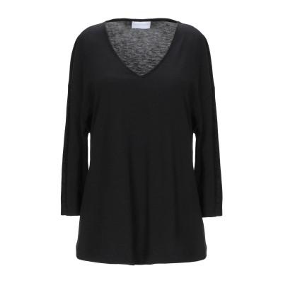ディアナ ガッレージ DIANA GALLESI T シャツ ブラック 40 テンセル 67% / コットン 33% T シャツ