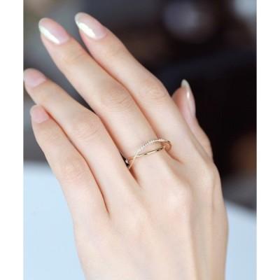 指輪 AROJU・リング[2連風]