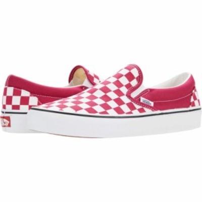ヴァンズ Vans メンズ スリッポン・フラット シューズ・靴 Classic Slip-On(TM) Cerise/True White
