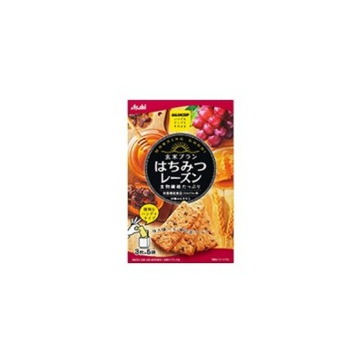 「アサヒ」 バランスアップ 玄米ブラン はちみつレーズン 3枚×5袋入 (栄養機能食品) 「健康食品」