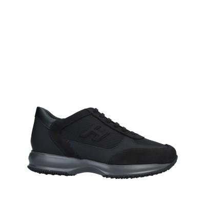 ホーガン HOGAN スニーカー&テニスシューズ(ローカット) ブラック 9 紡績繊維 / 革 スニーカー&テニスシューズ(ローカット)