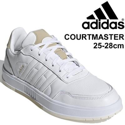 スニーカー メンズ レザー シューズ ローカット adidas アディダス コートマスター COURTMASTER M/コートスタイル LEX24 ホワイト 白 スポーツ /FY8140