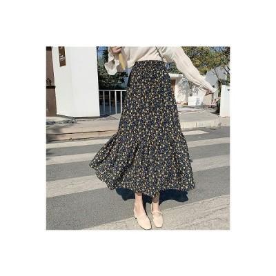 大きいサイズL-4XL ファッション/人気スカート パープル/グリーン2色展開