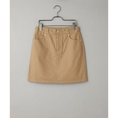 スカート ツイルワークミニスカート