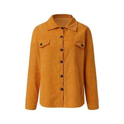 Zpervoba Women's Plus Size Denim Jacket Long Sleeve Classic Retro Pocket Lo