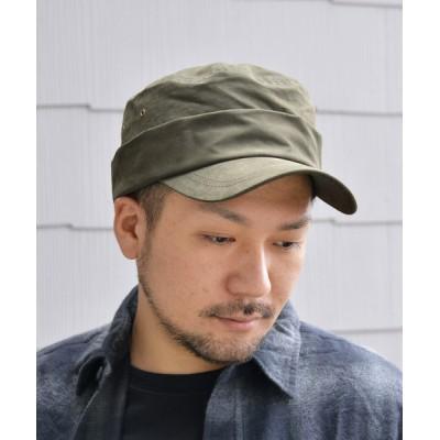 ANCHOR by ROTAR/VIVIFY / QUARTER GALLERY ネーム付きベルクロワークCAP MEN 帽子 > キャップ