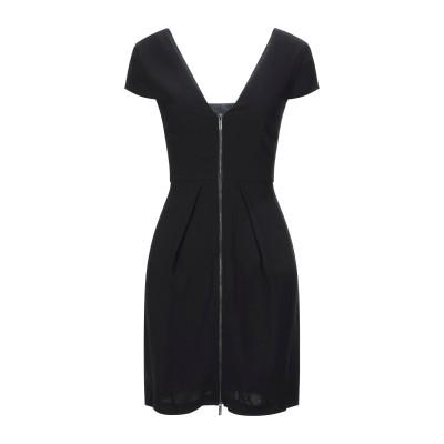 ARMANI EXCHANGE ミニワンピース&ドレス ブラック 0 エラストマルチエステル 71% / ポリエステル 29% ミニワンピース&ドレス