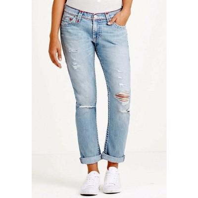 ジーンズ デニム Gパン トゥルーレリジョン レディース True Religion Women's Audrew Slim Boyfriend Super T Jeans - WDAAB713A