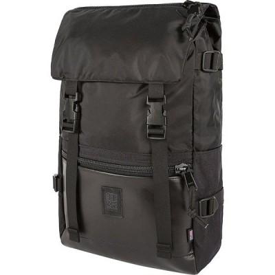 トポ・デザイン バックパック・リュックサック メンズ バッグ Rover 20L Pack - Heritage Ballistic Black/Black Leather