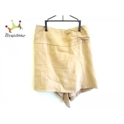 ピンキー&ダイアン Pinky&Dianne スカート サイズ38 M レディース ベージュ フェイクスエード  スペシャル特価 20210313