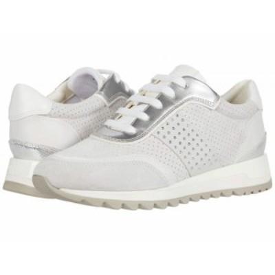 Geox ジオックス レディース 女性用 シューズ 靴 スニーカー 運動靴 Tabelya 15 Off-White/White【送料無料】