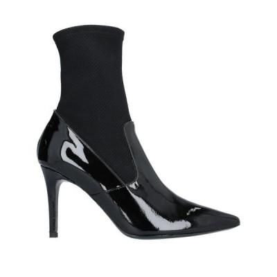 ATOS LOMBARDINI ショートブーツ ファッション  レディースファッション  レディースシューズ  ブーツ  その他ブーツ ブラック