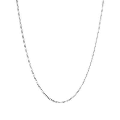 """トムウッド Tom Wood メンズ ネックレス ジュエリー・アクセサリー 24.5"""" Curb Chain M Silver"""