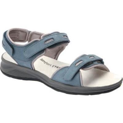 ドリュー Drew レディース サンダル・ミュール シューズ・靴 Cascade Sandal Blue Nubuck